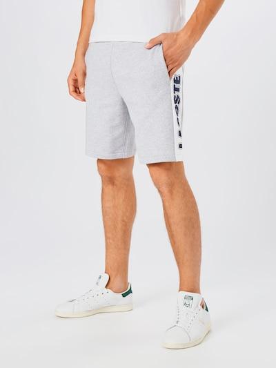 LACOSTE Shorts in dunkelblau / graumeliert / weiß, Modelansicht