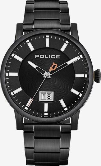 POLICE Quarzuhr 'Collin PL15404JSB.02M' in apricot / schwarz / weiß, Produktansicht