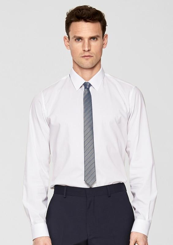 S.oliver Black Label Striped Silk Tie