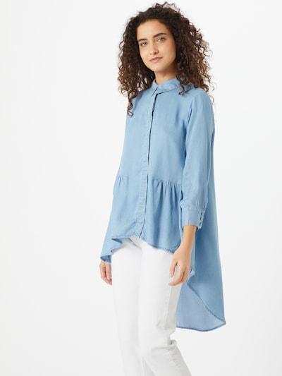 ONLY Bluse 'CANBERRA' in hellblau, Modelansicht