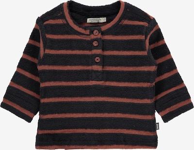 IMPS&ELFS Sweater 'Aldershot' in rostbraun / schwarz, Produktansicht