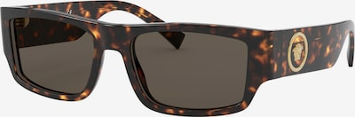 VERSACE Sonnenbrille in dunkelbraun, Produktansicht