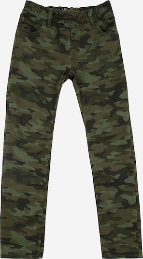 GAP Džíny - hnědá / khaki / světle zelená / černá, Produkt