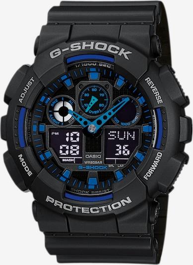 CASIO G-SHOCK in blau / schwarz, Produktansicht