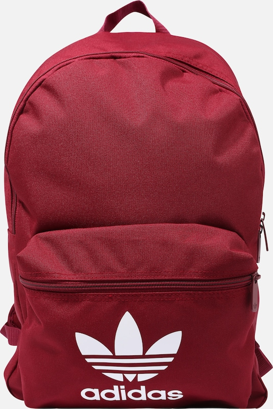 ADIDAS ORIGINALS Rucksack 'AC CLASS BP' in rot, Produktansicht