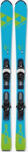 FISCHER Ski 'RC One Jr. mit FJ4 GW AC SLR' in aqua / apfel, Produktansicht