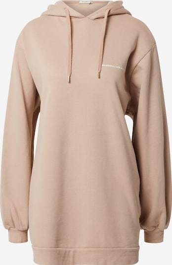 Ragdoll LA Majica 'Super Oversized Hoodie' | nude barva, Prikaz izdelka