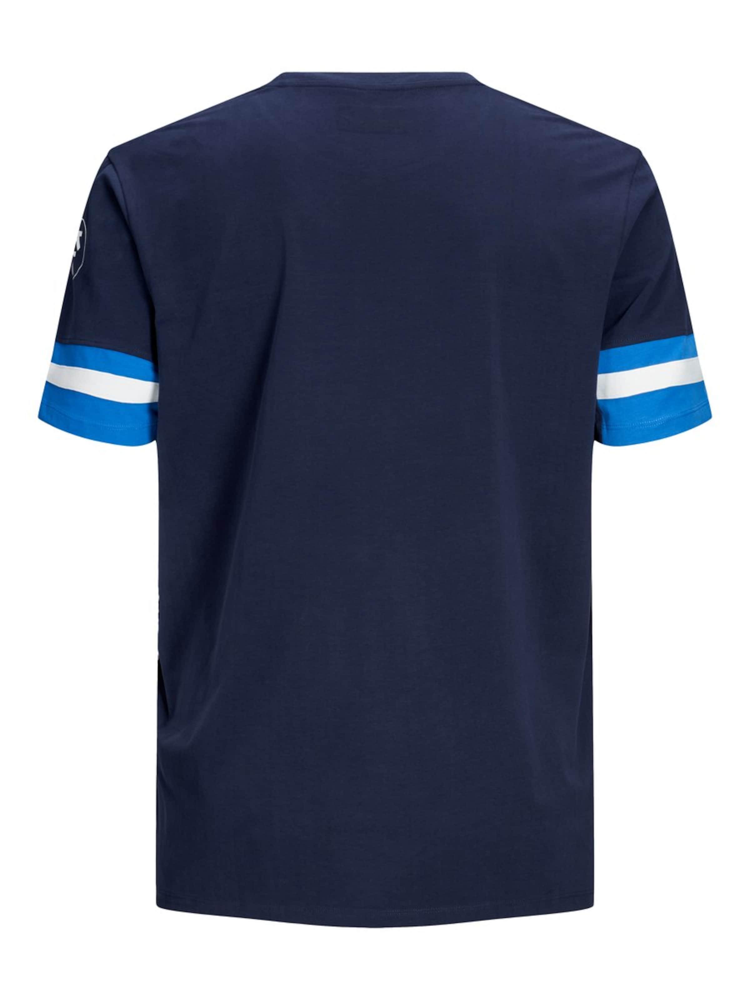 Jackamp; FoncéBlanc Bleu Jones shirt En T WEYD9HI2