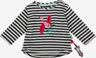 SIGIKID Langarmshirt für Mädche in aqua / pink / rot / schwarz / weiß, Produktansicht