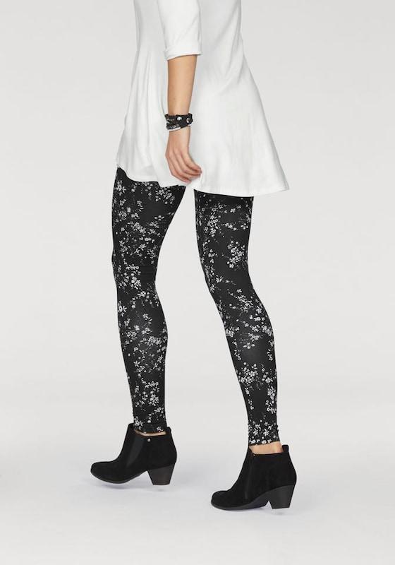 BOYSEN'S Leggings mit Blumen-Print