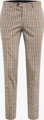 Pantalon à plis 'CALI SID TROUSER TC319' - JACK & JONES en marron