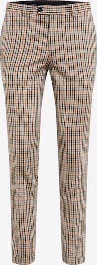 Pantaloni cu dungă 'CALI SID TROUSER TC319' JACK & JONES pe maro / negru, Vizualizare produs