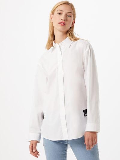 HUGO Bluza 'Eartha' | bela barva, Prikaz modela