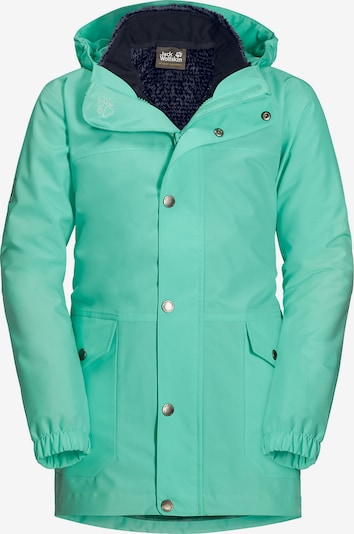 JACK WOLFSKIN Outdoorjacke 'Icy Falls' in grün / pastellgrün, Produktansicht