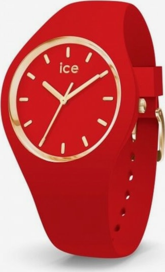 ICE WATCH Quarzuhr 'ICE' in gold / rot, Produktansicht