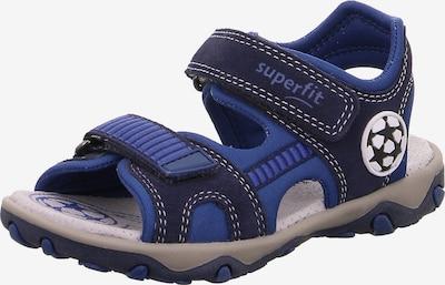 SUPERFIT Sandale  'Mike' in blau / dunkelblau, Produktansicht
