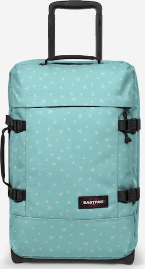 EASTPAK Trolley in de kleur Pastelblauw / Wit, Productweergave