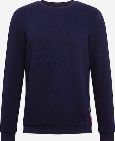 TOM TAILOR DENIM Sweatshirt in dunkelblau, Produktansicht