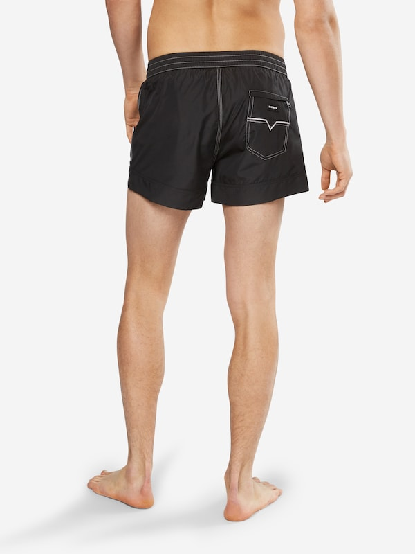 Diesel Bathing Shorts With Logo-print