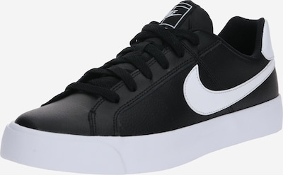 Nike Sportswear Sneaker 'Court Royale AC' in schwarz / weiß, Produktansicht