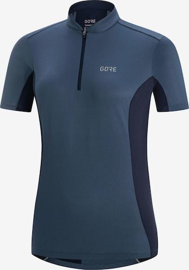 GORE WEAR Fahrradtrikot 'GORE® C3 Damen Zip Trikot' in dunkelblau: Frontalansicht