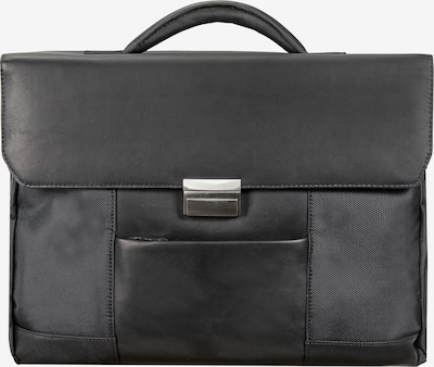 Dermata Aktentas in de kleur Zwart, Productweergave