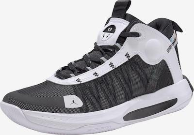 Jordan Basketballschuh 'Jumpman 2020' in schwarz / weiß, Produktansicht