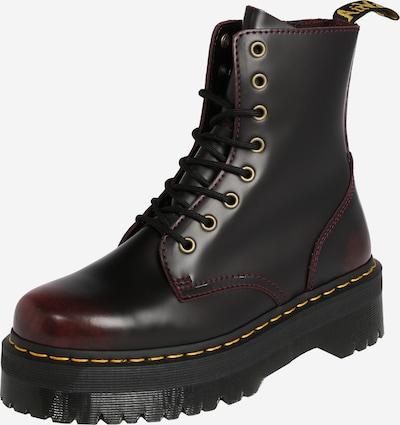 Dr. Martens Škornji z vezalkami 'Jadon' | češnjevo rdeča / črna barva, Prikaz izdelka