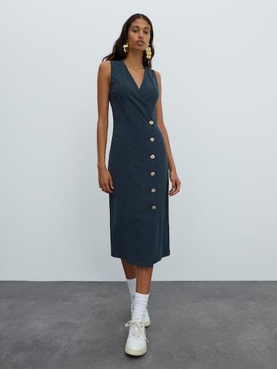 EDITED Kleid 'Taria' in grün, Modelansicht