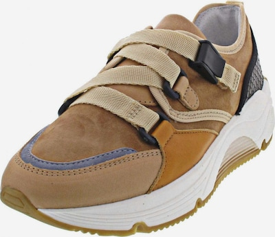 Alpe Sneaker in ecru / himmelblau / karamell / schwarz, Produktansicht