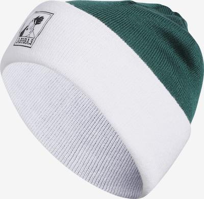 ADIDAS ORIGINALS Beanie 'Josh' in dunkelgrün / weiß, Produktansicht