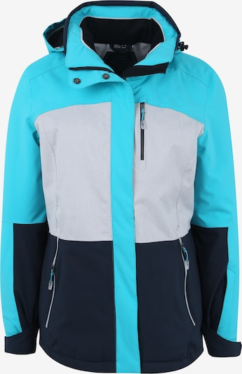 KILLTEC Zunanja jakna 'Sewia' | voda / mešane barve barva, Prikaz izdelka