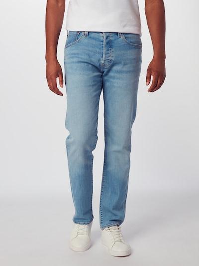 LEVI'S Jeansy '501SLIMTAPER' w kolorze niebieski denimm, Podgląd na modelu(-ce)