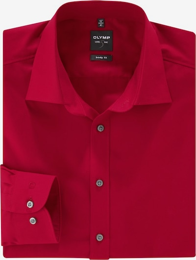 OLYMP Businesshemd in rot, Produktansicht