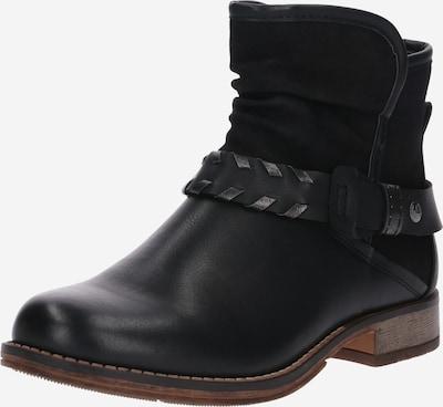 RIEKER Enkellaarsjes in de kleur Zwart, Productweergave