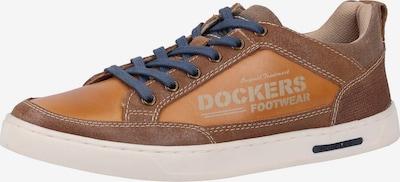 Dockers by Gerli Sneaker in braun: Frontalansicht