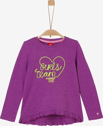 s.Oliver Shirt in lila, Produktansicht