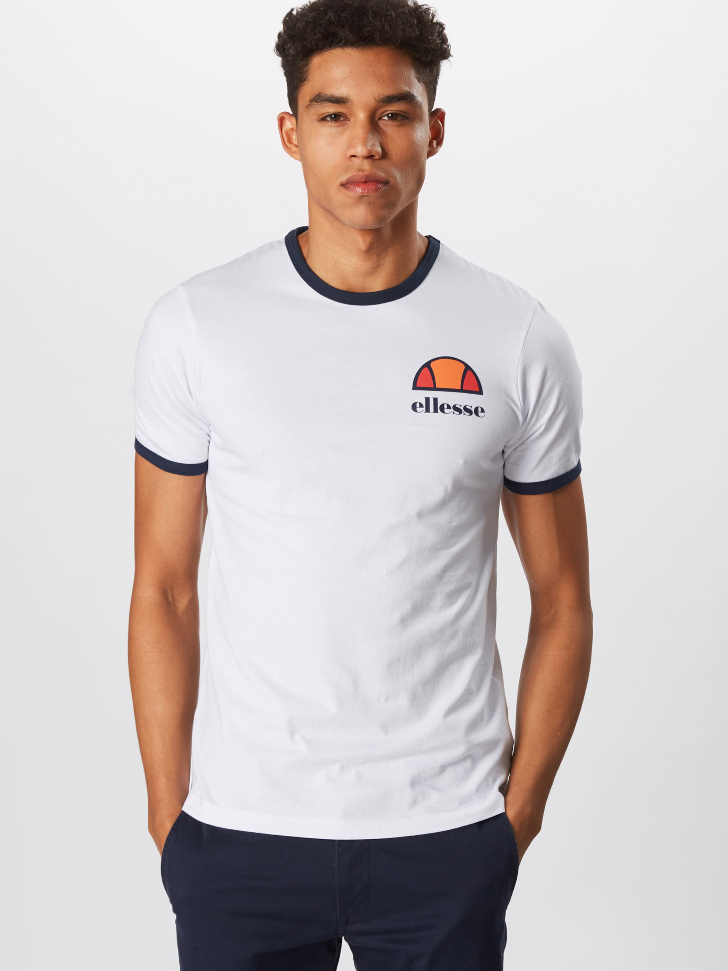 Ellesse En Blanc T shirt 'algila' sotQCxBhrd