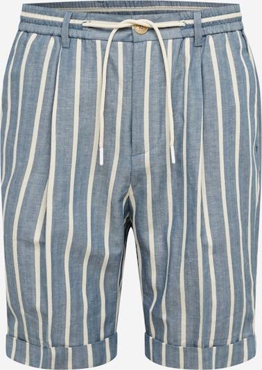Kelnės iš SCOTCH & SODA , spalva - mėlyna dūmų spalva / balta, Prekių apžvalga