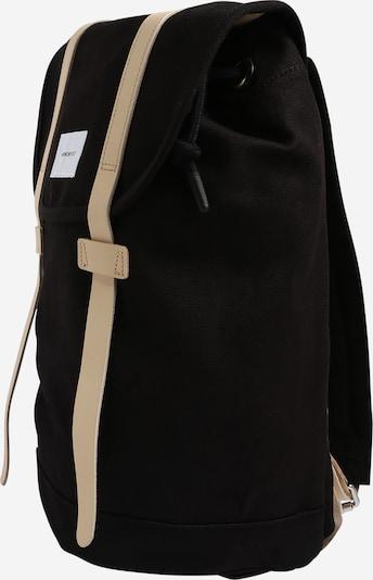 SANDQVIST Rucksack 'Stig' in beige / schwarz, Produktansicht