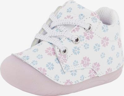 LURCHI Lauflernschuh 'Flosy' in hellblau / pink / weiß, Produktansicht