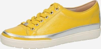 CAPRICE Sneaker in gelb / silber, Produktansicht