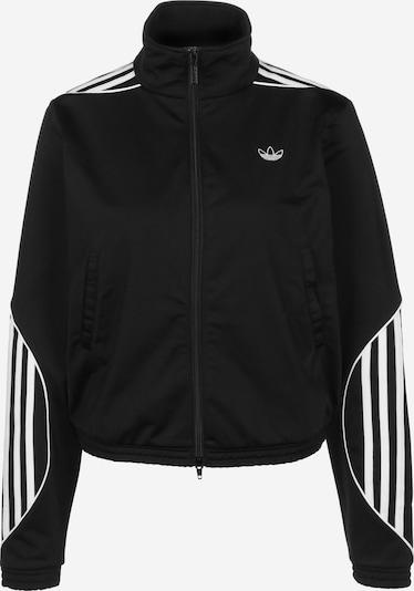 ADIDAS ORIGINALS Trainingsjacke in schwarz / weiß, Produktansicht