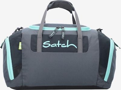 Satch Tasche in türkis / dunkelgrau / schwarz, Produktansicht