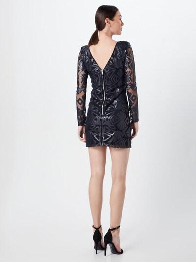MICHALSKY FOR ABOUT YOU Kleid 'Joyce' in schwarz: Rückansicht