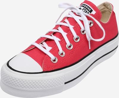 CONVERSE Sneaker 'Chuck Taylor All Star Lift - Ox' in rot / weiß, Produktansicht