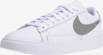 Nike Sportswear Sneaker 'Blazer Low LE' in weiß: Frontalansicht