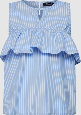 SISTERS POINT Blouse in Blauw / Wit