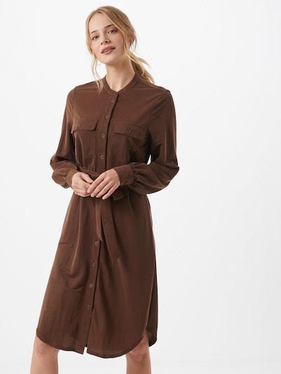 OBJECT Kleid  'Jarrie 110' in braun, Modelansicht