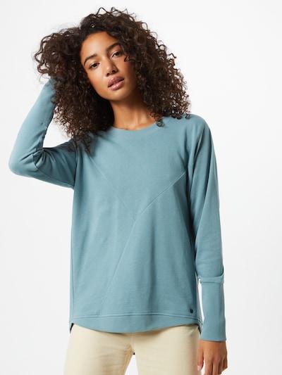 NÜMPH Sweatshirt 'NICOLA' in hellblau: Frontalansicht